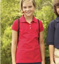 Child's polo shirt - Click for Larger Image!