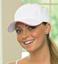 Two-Tone Baseball Cap - Click for Larger Image!