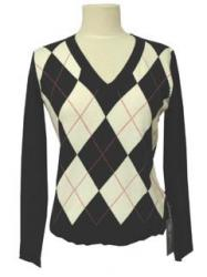 V-Neck Knit Sweater - Click for Details!